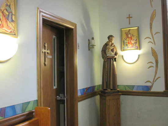 Door to the Confessional