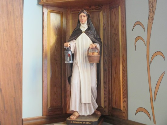 Statue of St. Catherine of Siena
