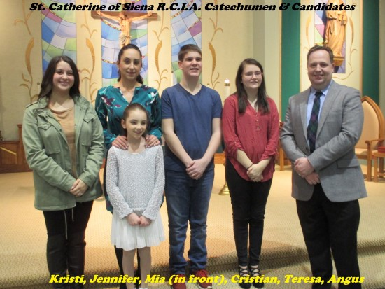 RCI Catechumen and Candidates