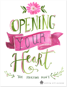 Opening Your Heart Graphic