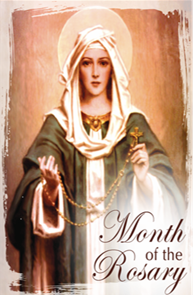Our Lady of the Rosary Graphic